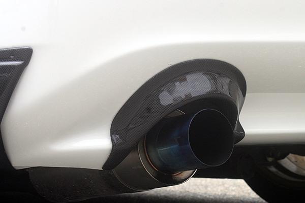 チャージスピード S2000 AP1 2 03/10~ 後期 リアバンパー ヒートシールド 純正バンパー用 カーボン CHARGE SPEED ボトムライン BottomLine