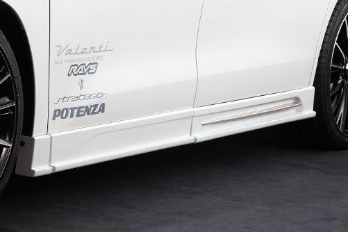 アクセルオート ヴェルファイア V X サイドステップ FRP 未塗装  Axellauto