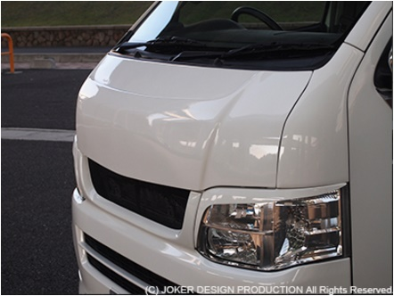 JOKER DESIGN ジョーカー デザイン ハイエース 200系 1・2・3・4型 標準 ボンネット S-GT 品番:NA-18