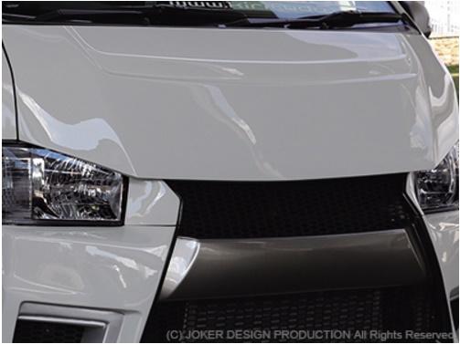 JOKER DESIGN ジョーカー デザイン ハイエース 200系 1・2・3・4型 標準 バッドスタイルボンネット ワイルドルック仕様 品番:NA-37