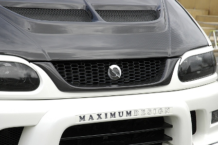 NEXTAGE ネクステージ MAXIMUM DESIGN デリカスペースギア 後期 全モデル フロントグリル FRP