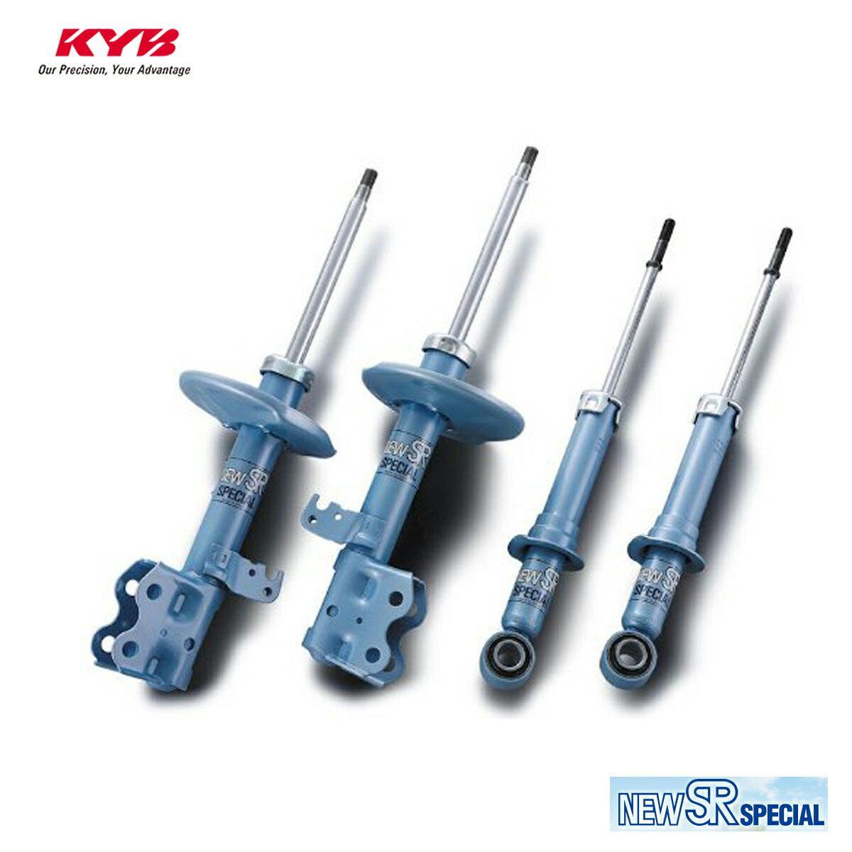 KYB カヤバ CRX EF6 ショックアブソーバー フロント 左用 1本 NEW SR SPECIAL NSF9009L 配送先条件有り