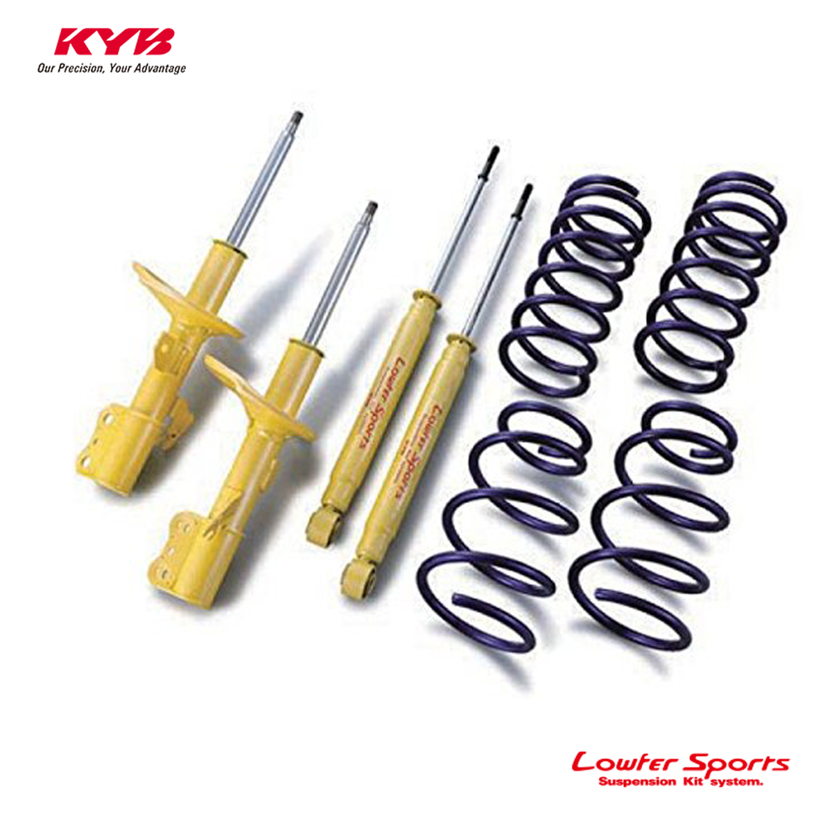 KYB カヤバ マーチ K13 ショックアブソーバー サスペンションキット Lowfer Sports LKIT-K13 配送先条件有り
