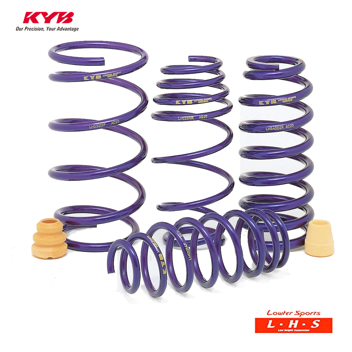 KYB カヤバ プリウス PHV ZVW52 スプリングダウンサス LOWFER SPORTS LHS LHS49102F×2 配送先条件有り