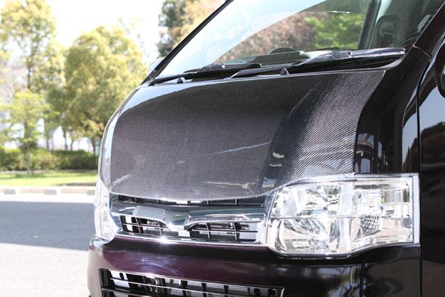 ユーアイビークル ハイエース 200系 標準 ナロー ユーロボンネット UI-vehicle ユーアイ 個人宅発送不可