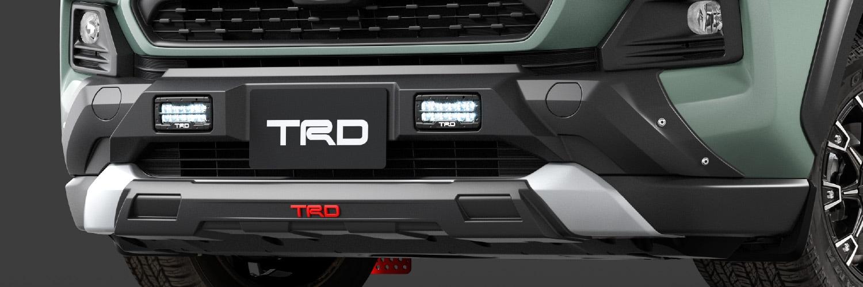 TRD RAV4 MXAA52 MXAA54 フロントバンパーガーニッシュ LED付 ICS無車 MS341-42001 配送先条件有り