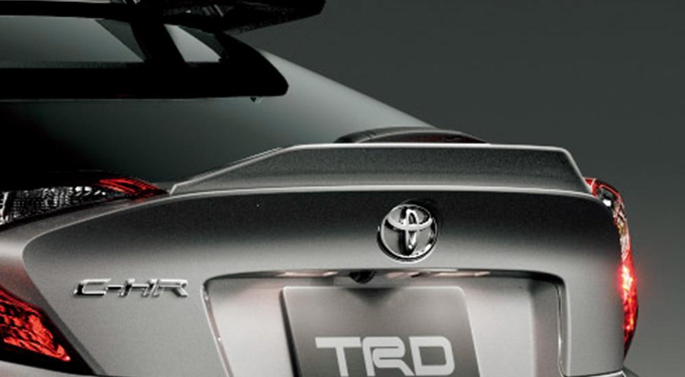TRD C-HR 1#系 5#系 トランクスポイラー (S S-T用) ブラック MS342-10003 配送先条件有り
