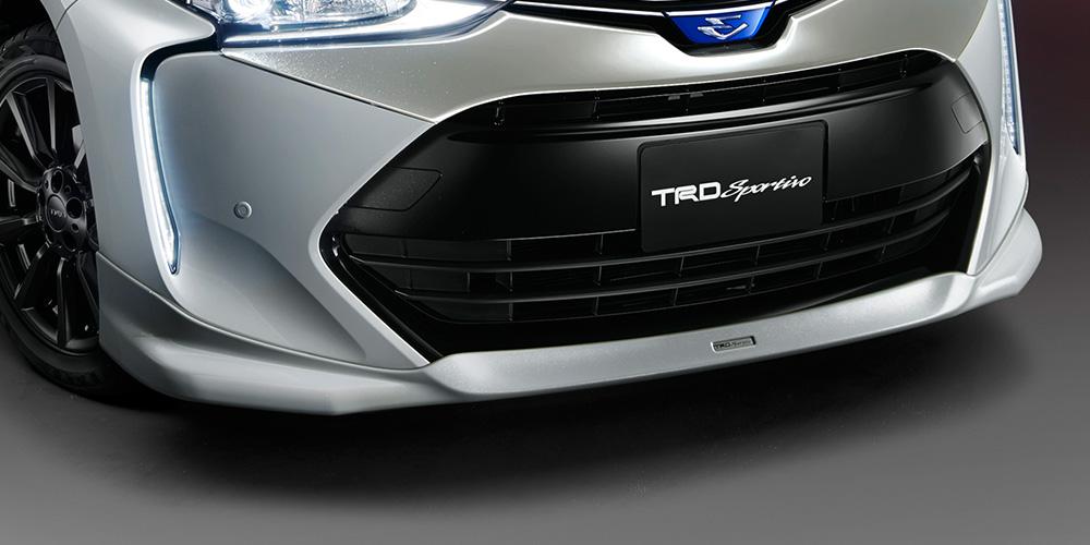 TRD エスティマハイブリッド 50系 フロントスポイラー LEDなし 塗装済 MS341-28036 配送先条件有り