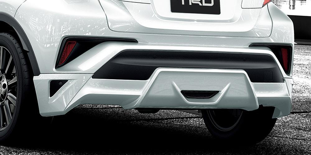 TRD C-HR NGX10 NGX50 ZYX10 リヤバンパースポイラー 塗装済 MS313-10001 配送先条件有り