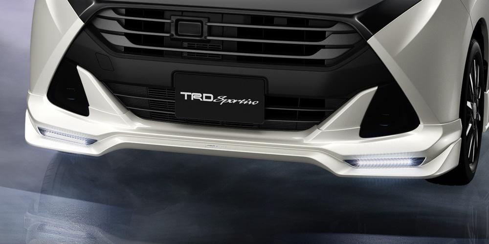 TRD タンク 900 系 フロントスポイラー LED付 未塗装 MS341-B1013-NP 配送先条件有り