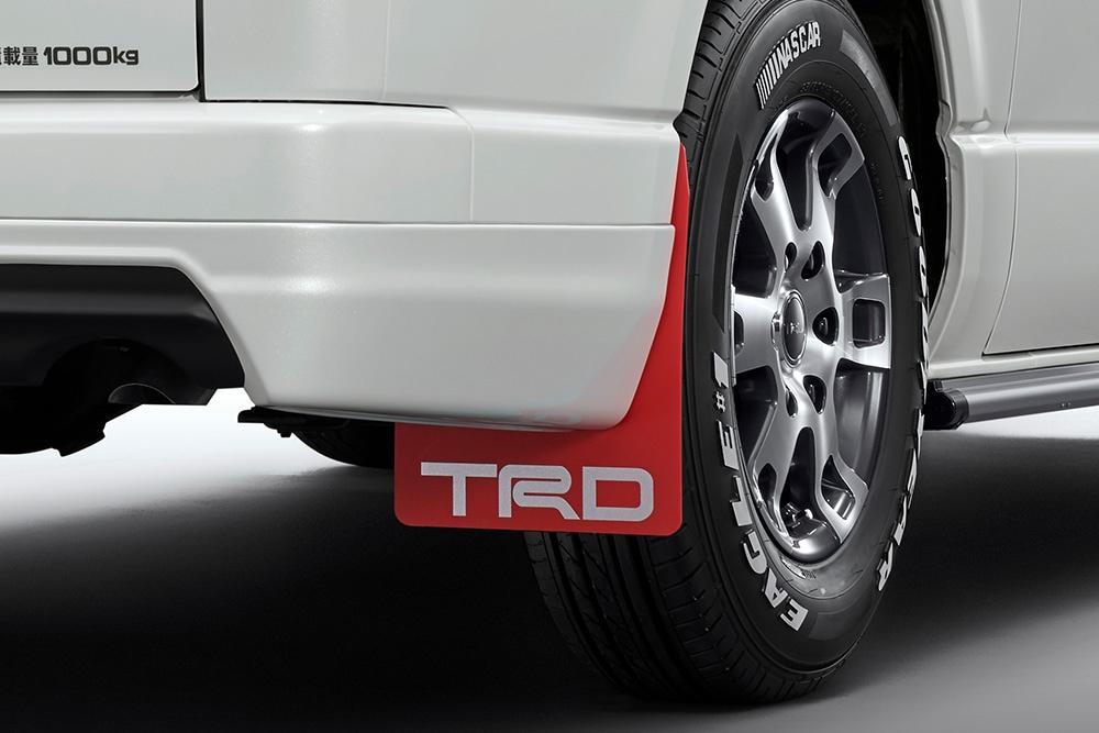 TRD ハイエース 200系 KDH220 GDH220 TRH210 TRH220 マッドフラップ MS328-26001 配送先条件有り
