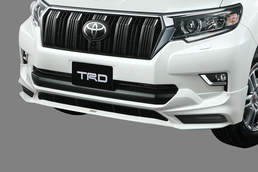 TRD ランドクルーザープラド 150系 GDJ150W 151W / TRJ150W フロントスポイラー LEDなし 塗装済 MS341-60003 配送先条件有り