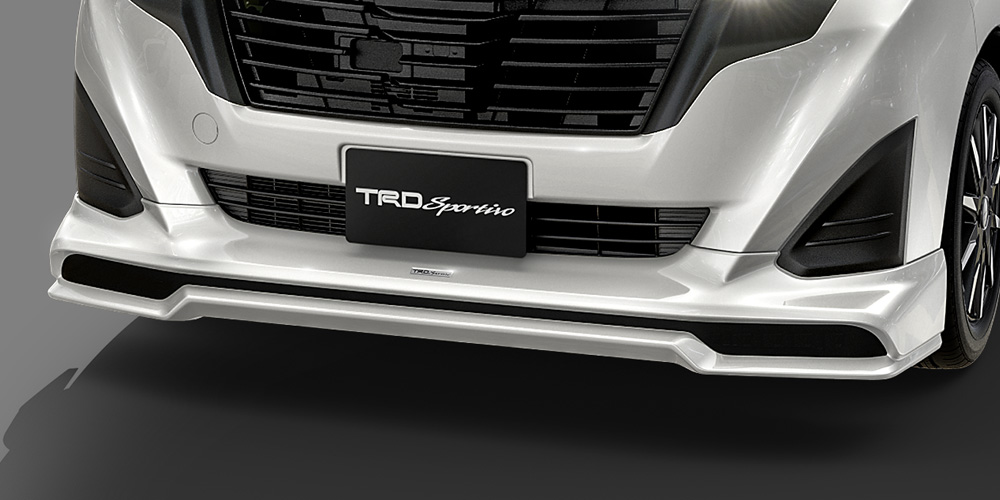 TRD ルーミー 900系 フロントスポイラー LEDなし 未塗装 MS341-B1011-NP 配送先条件有り