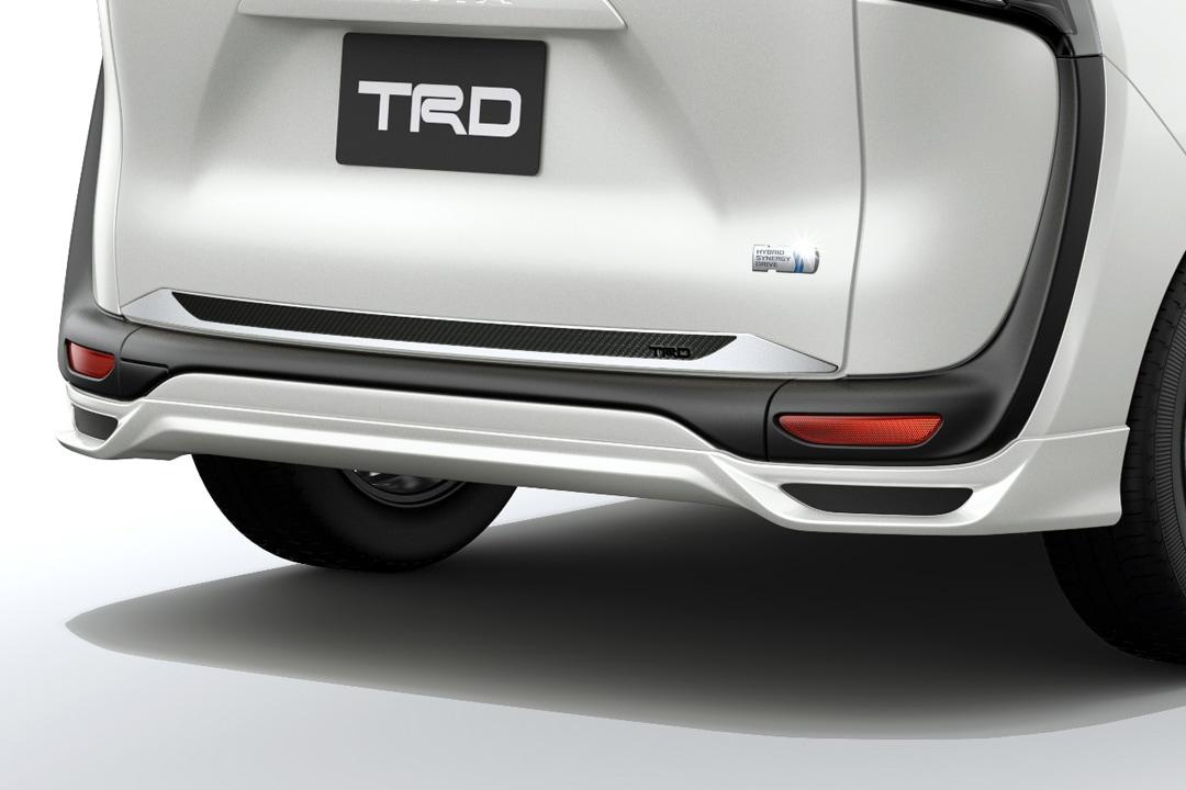 TRD シエンタ 17#系 リヤアンダースポイラー 塗装済 MS343-52003 配送先条件有り