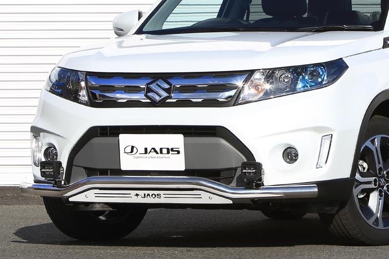 JAOS ジャオス エスクード Y#21S系 15.10~18.10 フロントスキッドバー ポリッシュ/ブラスト B150506A 配送先条件有り