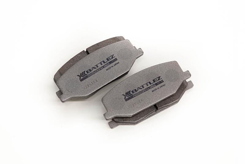 JAOS ジャオス ジムニー シエラ JB74系 18.07~ BATTLEZ ブレーキパッド type-EX フロント B832512F 配送先条件有り