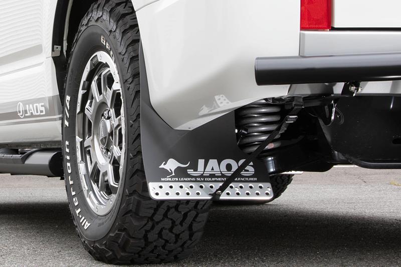 JAOS ジャオス デリカ D:5 4N14 3DA-CV1W 19.02~ ディーゼル マッドガード3 リヤセット ブラック B622306R 配送先条件有り