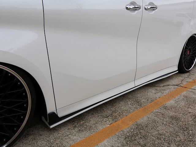 シックスセンス アルファード 30系 Sグレード ボンネットスポイラー 2色塗り分け SIXTH SENSE JOULE ジュール