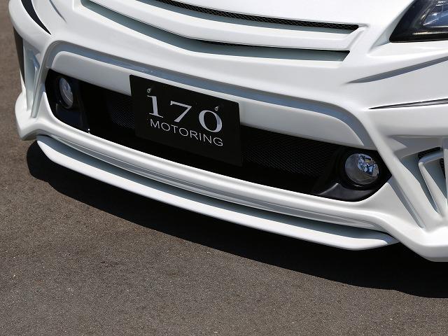 シックスセンス プリウスα ZVW40W 前期 Fバンパー+専用センターリップ ヘッドライト用ウォッシャーノズル有 無し 未塗装 SIXTH SENSE