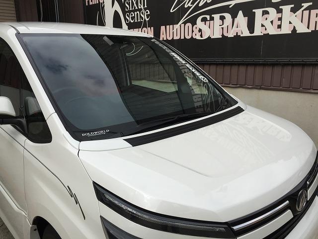 シックスセンス ヴォクシー 80系 ボンネットスポイラー 未塗装 SIXTH SENSE