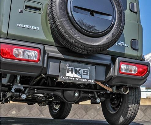 エッチケーエス ジムニー JB64W リーガルマフラー 専門店 マフラー形状K-1 31013-AS017 セール品 HKS LEGAL 排気系パーツ 配送先条件有り
