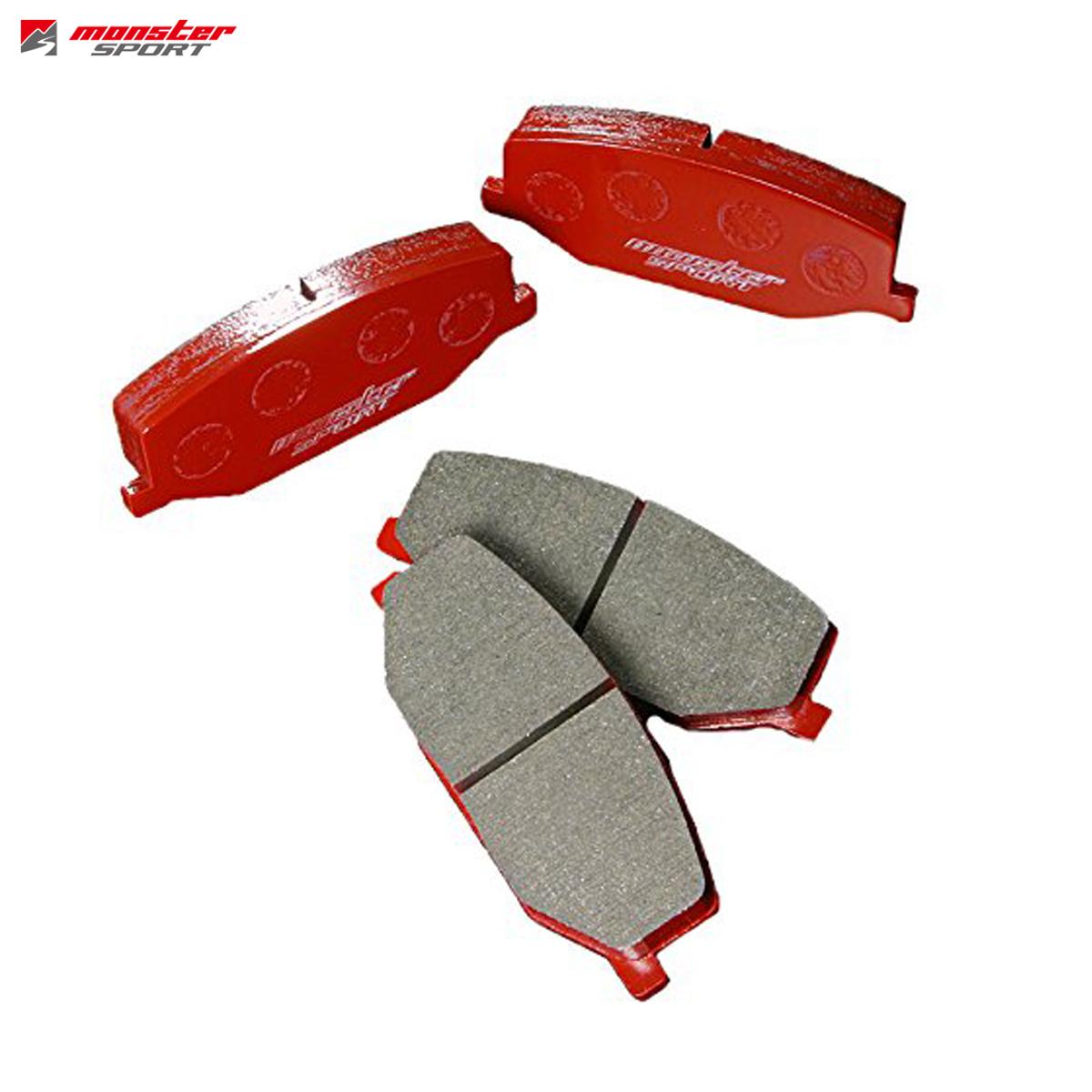 MONSTER SPORT モンスタースポーツ アルトワークス HA36S ブレーキパッド フロント Type-S2 411150-4100MA