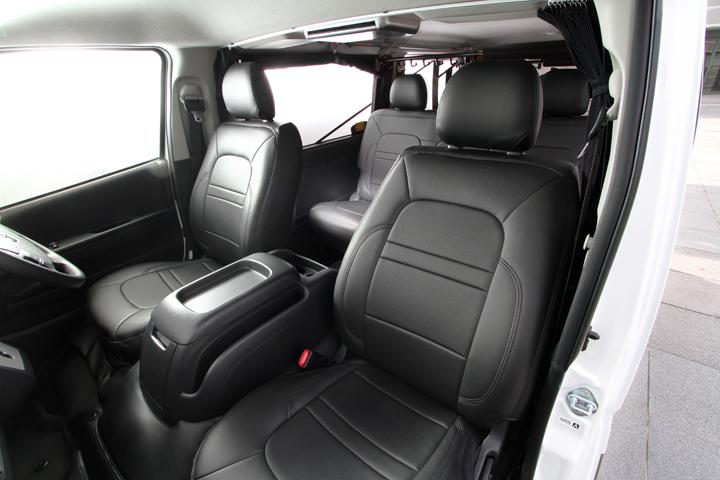 ユーアイビークル ハイエース 200系 コンフォートシートカバー S-GL (1台分) UI-vehicle ユーアイ 個人宅発送不可