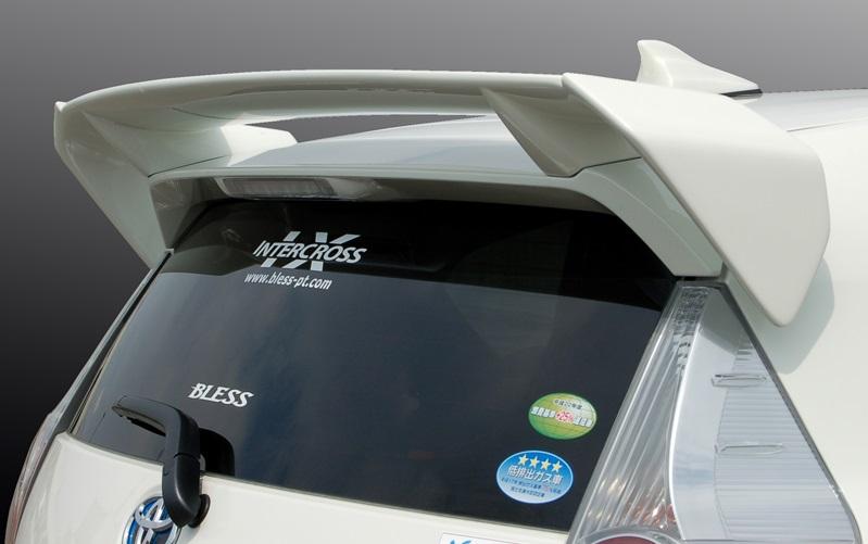 BLESS CREATION アクア NHP10 ノーマルリアスポイラー車用 リアウイング Ver.1 ブレス クリエイション