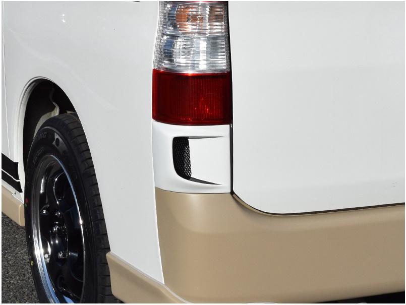 BLESS CREATION タウンエース ライトエース S402系 バン リアコーナーダクト 未塗装 ブレス クリエイション
