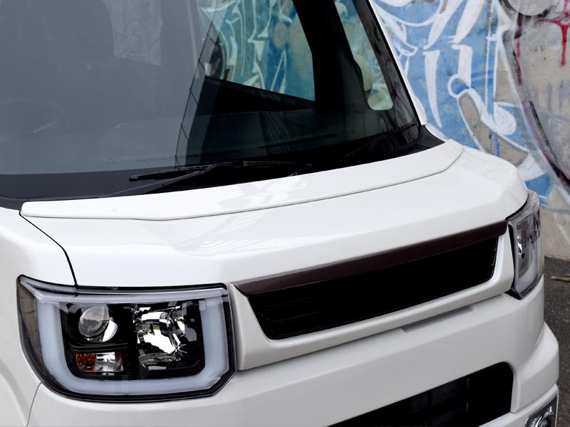 BLESS CREATION ウェイク ウエイク LA700S LA710S ボンネットスポイラー 塗装済 1色/塗分け無し ブレス クリエイション