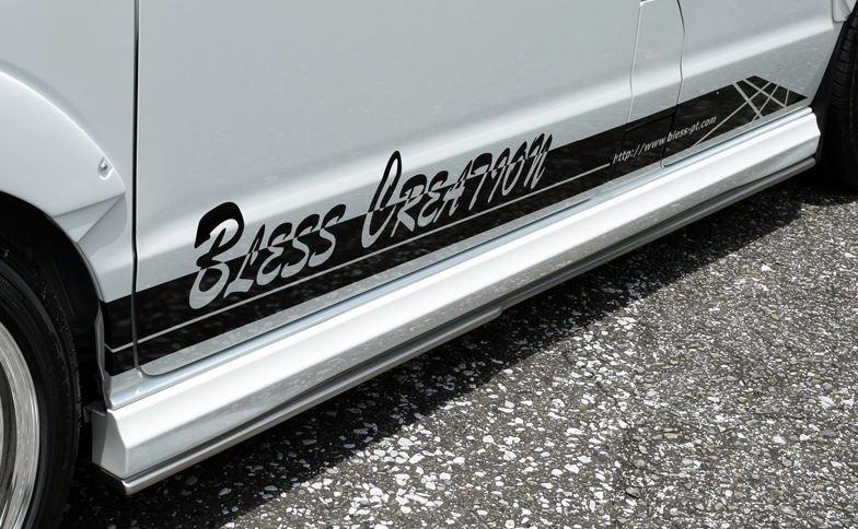 BLESS CREATION エブリィ エブリイ エブリー ワゴン DA17W アンダーサイドスポイラー 未塗装 ブレス クリエイション