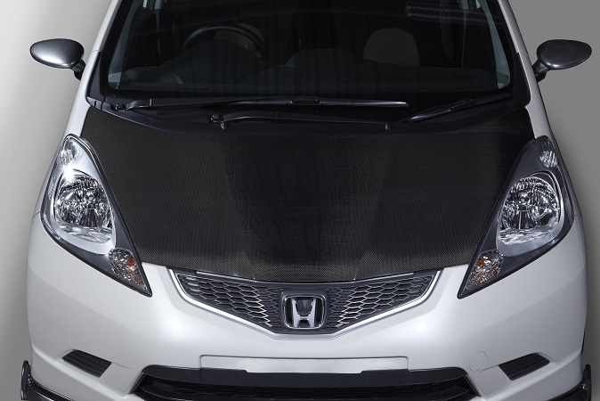SPOON SPORTS スプーン スポーツ フィット GE8 CARBON BONNET カーボン ボンネット 60100-GEA-000