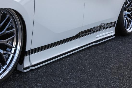 KUHL RACING アルファード 30系 前期 サイドステップ SG 4分割タイプ 塗装済み 30A-GT クール レーシング