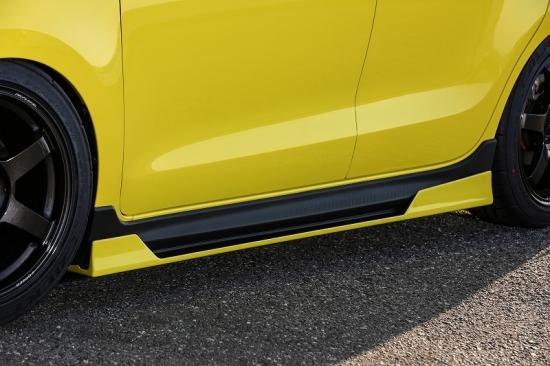 KUHL RACING スイフトスポーツ ZC33S サイドディフューザー SG 塗分塗装 33R-SS クール レーシング