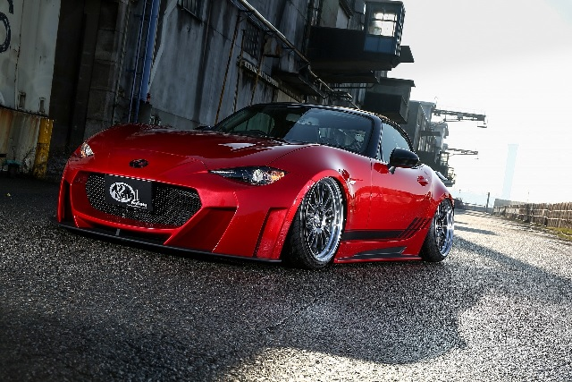 KUHL RACING ロードスター フロントバンパー SG 未塗装 ND5-GT クール レーシング