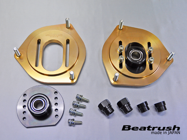 レイル Beatrush 86 ハチロク ZN6 フロント ピロボール トップ マウント S136016TM-FPA LAILE
