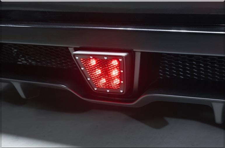 S A D カスタムジャパン ハイエース 200系 4型 ワイド ステルスバックマーカー S.A.D CUSTOM JAPAN AGENT エージェント 配送先条件有り