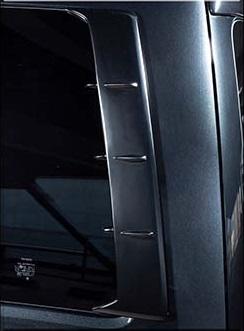 S A D カスタムジャパン ハイエース 200系 4型 ワイド ピラーダクト S.A.D CUSTOM JAPAN DAISY デイジー