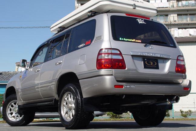高級品市場 ガナドール KR-HDJ101K ランクル ランドクルーザー 100系 SUV KG KR-HDJ101K ディーゼル車 バーテックス マフラー ディーゼル車専用 GD-050 GANADOR Vertex 4WD SUV バーテックス 4WD SUV, Re-LSHOP 〔リエルショップ〕:6c32da16 --- marketplace.socialpolis.io