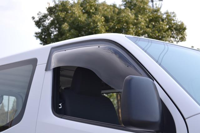 ズープロジェクト NV350キャラバン E26 スポーティーカット フロントサイド用 SP-92 電動格納ミラー車専用 PROJECT オックスバイザー カーアクセサリー ZOO 直営店 OXバイザー (訳ありセール 格安)