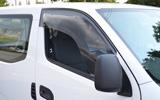 ZOO PROJECT ズープロジェクト NV350キャラバン E26 手動格納ミラー車専用 オックスバイザー ベイシックモデル フロントサイド用 OX-217S