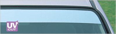 ZOO PROJECT ズープロジェクト クリッパーリオ DR64W 電動格納ミラー車専用 オックスシェイダー フロントシェイダー ハーフミラー FS-193M