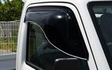 ZOO PROJECT ズープロジェクト ミニキャブトラック DS16T オックスバイザー ブラッキーテン フロントサイド用 BL-112