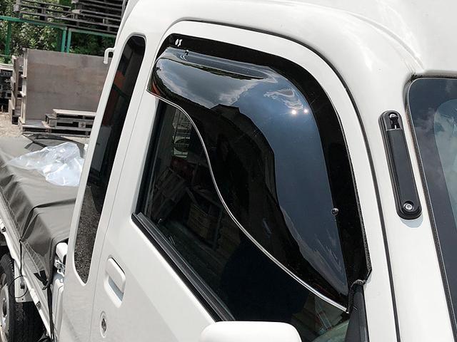 ZOO PROJECT ズープロジェクト ハイゼットトラック S500 S510 オックスバイザー ブラッキーテン フロントサイド用 BL-111