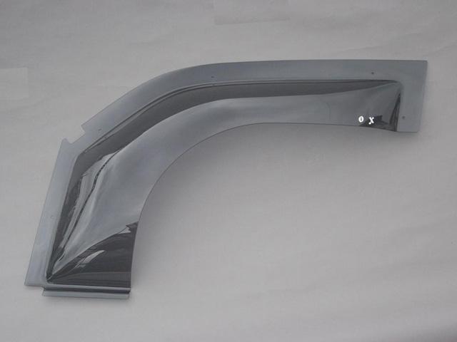 ZOO PROJECT ズープロジェクト ムーヴ L600S L602S L610S カリフォルニアミラー車 オックスバイザー ベイシックモデル フロントサイド用 OX-701C
