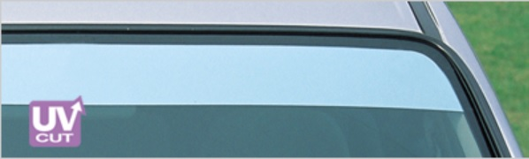 ZOO PROJECT ズープロジェクト ソリオ MA34 オックスシェイダー フロントシェイダー ハーフミラー FS-214M