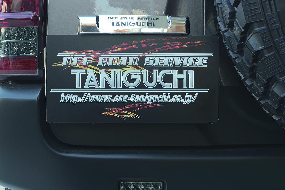 オフロードサービス タニグチ ジムニー JB23 スペアタイヤ移動キット用 ナンバー移動キット LEDナンバー灯セット OFF ROAD SERVICE TANIGUCHI