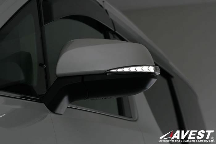 AVEST Vertical Arrow アルファード アルファードハイブリッド 30系 Type Zs LED 流れるドアミラーウィンカーレンズ オプションランプホワイト AV-011-W