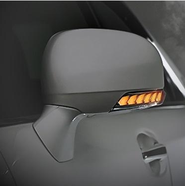 AVEST Vertical Arrow クラウンアスリート GRS200 GRS201系 Type Zs LED ドアミラーウィンカーレンズ ブロンズゴールドxランプホワイト AV-010-W-P アベスト
