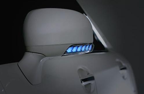 AVEST Vertical Arrow クラウンロイヤル 200系 GRS200 GRS201系 Type Zs LED 流れるドアミラーウィンカーレンズ シルバーxランプブルー AV-010-B アベスト